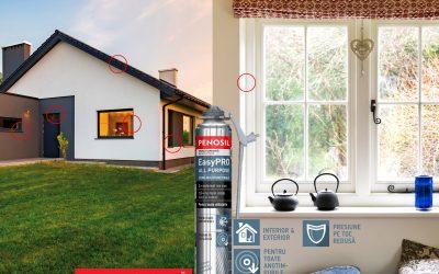 Spuma poliuretanică – un produs atât de necesar și util în orice lucrare de amenajare sau renovare