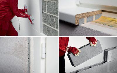 Cum să înlocuiești mortarul și holșuruburile cu spumă adezivă